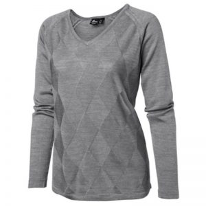Cross Women's Mix Knit V-Neck Pullover