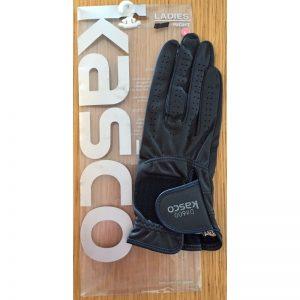 Kasco DX600 rechtshand Gr. S schwarz Damen Golfhandschuh