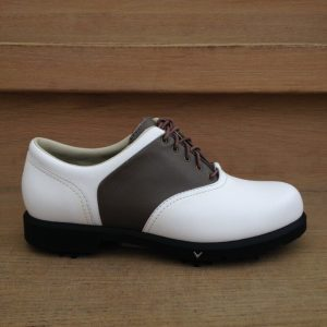 Callaway Comfort Saddle oliv/weiß Damen Golfschuh