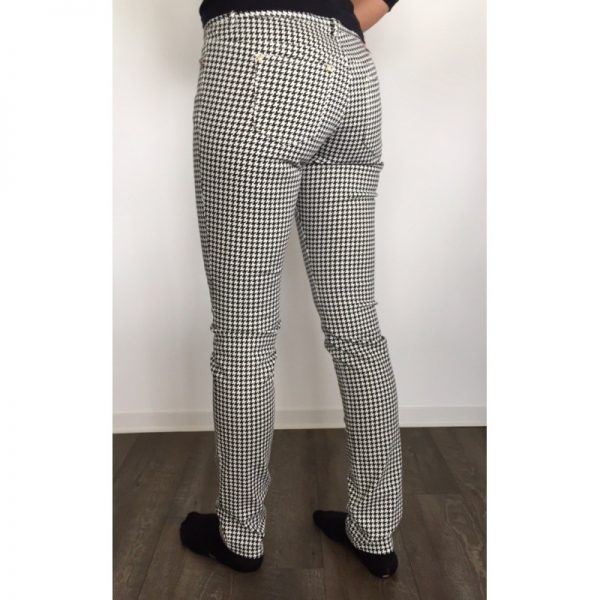 Alberto Claris Fancy Print schwarz/weiß gemustert Damen Golfhose