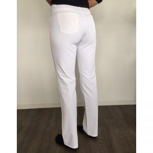 Alberto Anja 3xDRY Cooler weiß Damen Golfhose