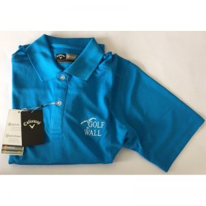 "Callaway Poloshirt ""Golf in Wall""-Logo blue aster Golfpolo"
