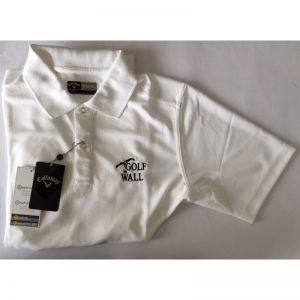 "Callaway Poloshirt ""Golf in Wall""-Logo bright white Golfpolo"