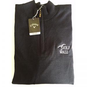 "Callaway Windstopper/Pullover ""Golf in Wall""-Logo dunkelblau Golfpullover"
