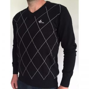 Cross Men's Rewind V-Neck schwarz Pullover