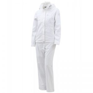 Cross Women's Drive Rain Set weiß Regenanzug