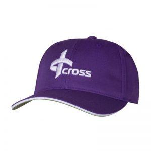 Cross Cap Unisex lila Golfcap