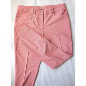 Abacus Ladies's Cleek rot/weiß gestreift Damenhose